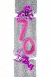 70. Geburtstags-Cracker Lizenzfreies Stockbild