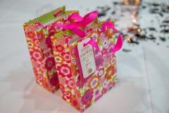 Geburtstags-Geschenk-Taschen Stockbild