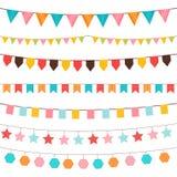 Geburtstagsdekorationsverzierungen Lizenzfreies Stockbild