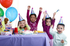 Geburtstagsfeier Stockbild