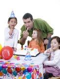 Geburtstagsfeier Stockfoto