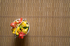 Geburtstagsfeier-Lebensmittel stockfotos