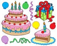 Geburtstagsfeieransammlung Lizenzfreie Stockbilder
