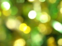 Geburtstagsfeierlichtunschärfe Lizenzfreie Stockfotografie