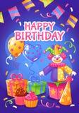 Geburtstagsfeierplakat Lizenzfreies Stockbild