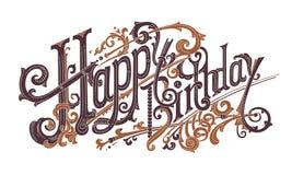 Geburtstagsgrußkarte, wertvolles Geschenk Lizenzfreie Stockfotos