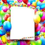 Geburtstagshintergrund lizenzfreie abbildung