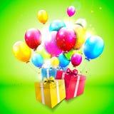 Geburtstagshintergrund Lizenzfreie Stockbilder