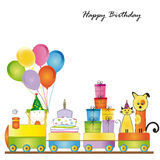 Geburtstagskarte Stockfoto