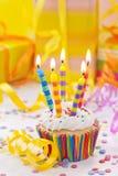 Geburtstagskerzen Stockbilder