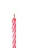 Geburtstagskerzen Stockfotografie