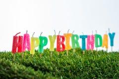 Geburtstagskerzen Lizenzfreies Stockbild