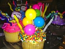 Geburtstagskleine kuchen Stockfotos