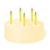 Geburtstagskuchen. Lizenzfreie Stockbilder