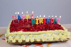 Geburtstagskuchen Lizenzfreies Stockfoto