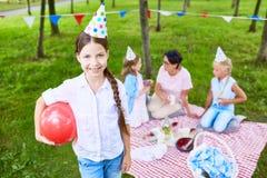 Geburtstagsunterhaltung stockfotos