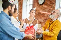 Geburtstagsversammlung stockbilder