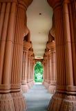 Gecanneleerde kolommen Stock Afbeeldingen