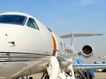 Gecharterd Vliegtuig Royalty-vrije Stock Afbeelding