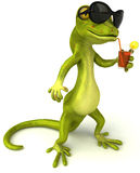 Gecko illustration stock