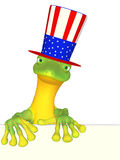 Gecko an American Royalty Free Stock Images