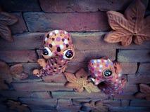Gecko cuit au four d'argile Photo stock