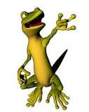 Gecko d'araignée illustration de vecteur