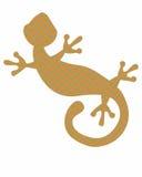Gecko de Chevron Image stock