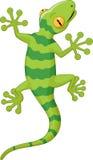 Gecko de dessin animé illustration libre de droits
