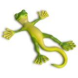 Gecko enjoing the sun Stock Photos
