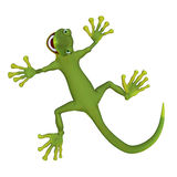 Gecko lizzard 3d Stock Image