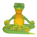 Gecko meditating Stock Photos