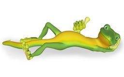 Gecko o'key Stock Photography