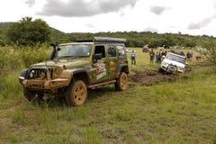 Gecko Pearl Green Jeep Wrangler Rubicon Royalty Free Stock Image
