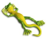 Gecko relaxing Stock Photo