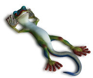 Gecko relaxing Royalty Free Stock Image