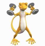 gecko toon иллюстрация вектора