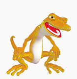 Gecko toon Royalty Free Stock Photography