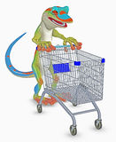 gecko toon иллюстрация штока
