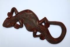 Geckos en bois photo stock