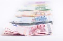 Geclassificeerde bankbiljetten stock afbeeldingen