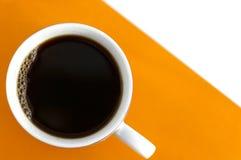 Gecombineerde achtergrond met koffie Stock Fotografie