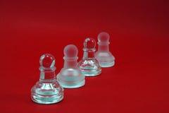 Gecombineerde schaakcijfers Royalty-vrije Stock Afbeelding