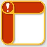 Gecombineerde vectorkaders Royalty-vrije Stock Afbeelding