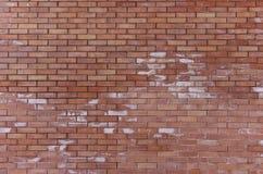 Geconstrueerde boete brickwall Stock Afbeelding
