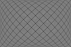 Gecontroleerd patroon Geweven geometrische achtergrond Royalty-vrije Stock Afbeelding