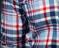 Gecontroleerd patroonoverhemd Royalty-vrije Stock Foto's