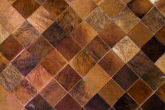 Gecontroleerde tapijtachtergrond Stock Afbeelding