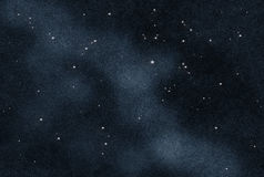 Gecreërd digitaal starfield Royalty-vrije Stock Afbeeldingen