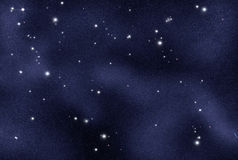 Gecreërd digitaal starfield Stock Afbeeldingen
